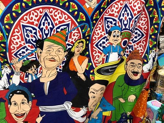 خيامية بشخصيات مصرية أصيلة