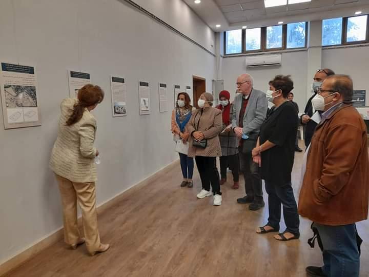 جانب من معرض الدكتورة هالة محمد حسنين بفنون جميلة الزمالك (6)
