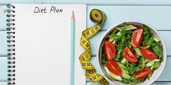 نظام رجيم لإنقاص الوزن في شهر