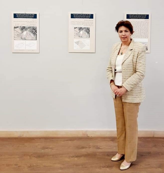 جانب من معرض الدكتورة هالة محمد حسنين بفنون جميلة الزمالك (4)