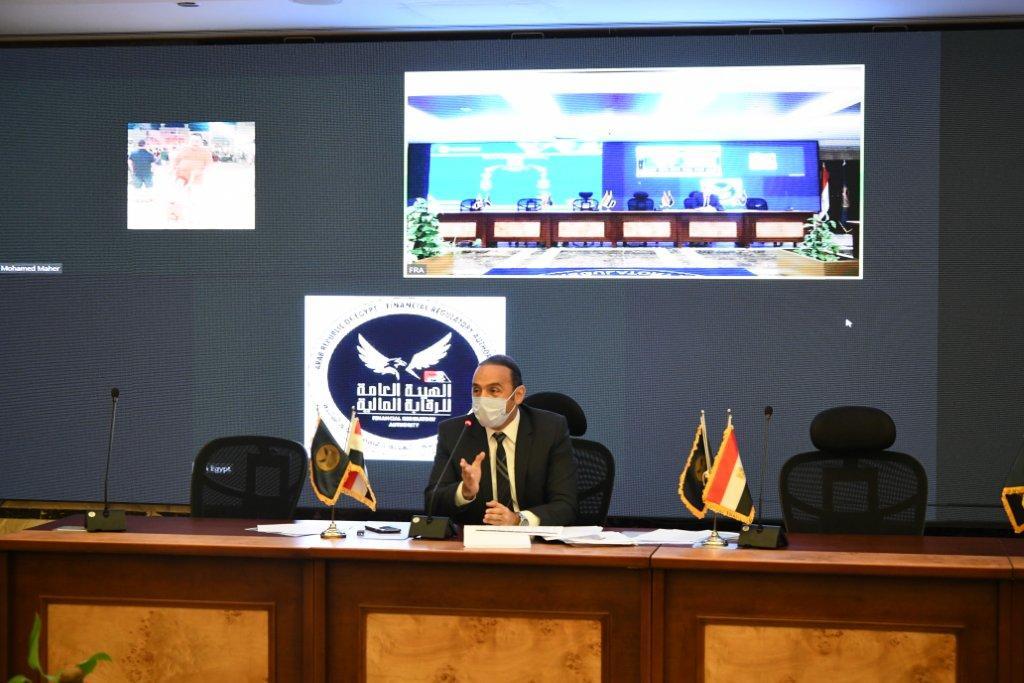 إسلام عزام نائب رئيس الهيئة العامة للرقابة المالية