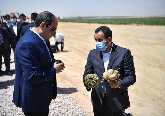 الرئيس-السيسى-فى-مشروع-مستقبل-مصر