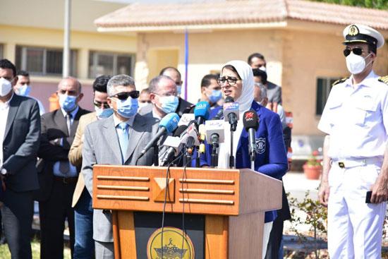 الصحة تعلن بدء تطعيم العاملين فى قطاع السياحة بالبحر الأحمر وجنوب سيناء (3)
