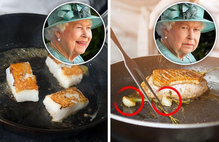 عادات الأكل الملكية