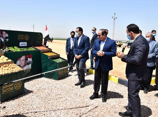 الرئيس-يزور-مشروع--مستقبل-مصر