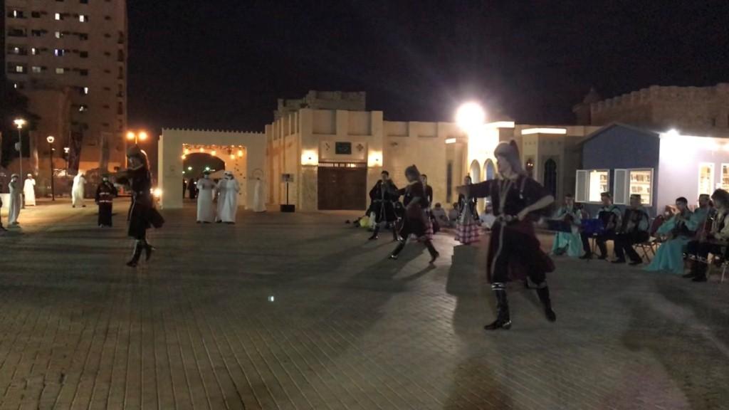 رقصات شعوب مشاركه
