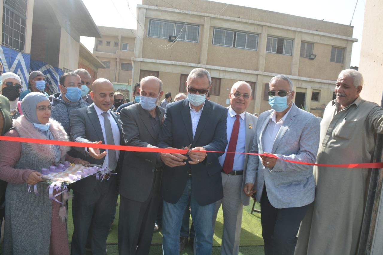 افتتاح مراكز الشباب