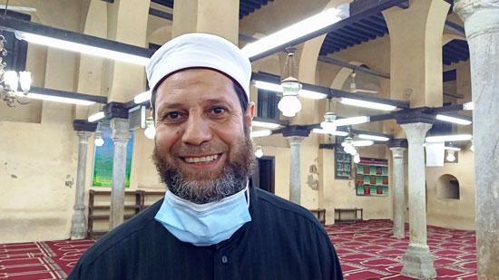 الشيخ جابر محمد عبد الكريم ، إمام مسجد أبو المكارم