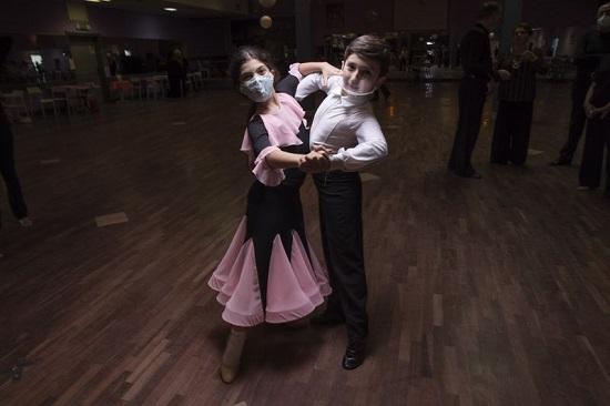 تدريب في جمعية أيام الرقص الجديدة في روما