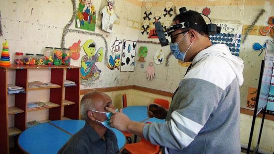 قافلة جامعة المنيا ضمن مبادرة حياة كريمة