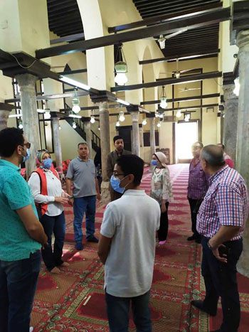 جانب من الزيبارات للمساجد الاثرية ومسجد ابو المكارم (2)