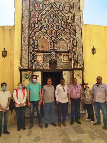 مساجد فوه الاثرية تشهد على حضارة اسلامية عريقة