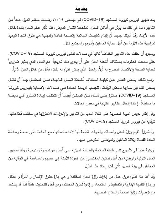 دليل وزارة العدل الاسترشادى 2