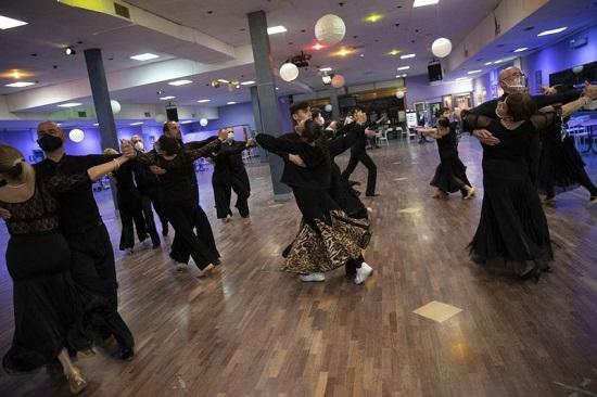 الرقص التنافسي لا يزال حيًا  في روما
