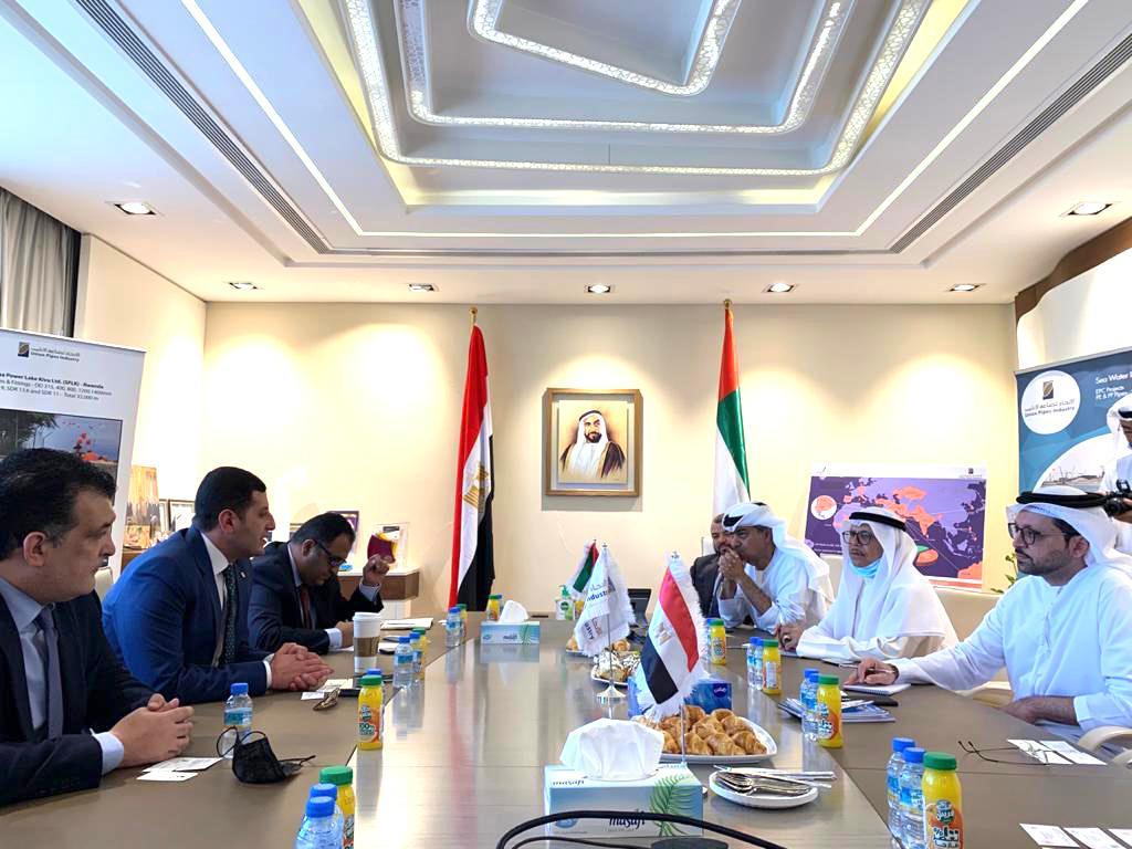 خلال اللقاءات مع المستثمرين الإماراتيين (2)