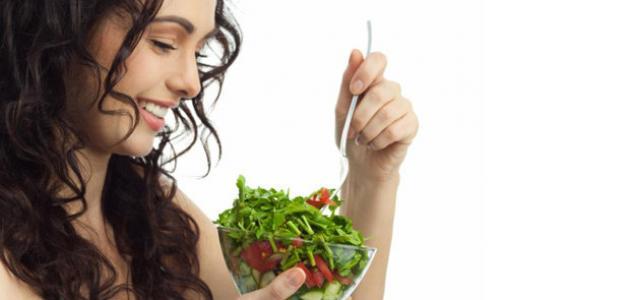 العناية بالشعر - الطعام الصحى