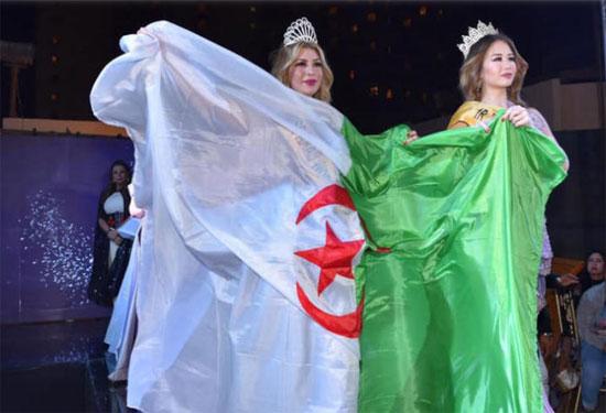 لحظة-تتويج-زوجة-ابوجبل-ملكة-جمال-الجزائر