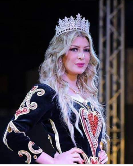 ملكة جمال الجزائر زوجة ابوجبل