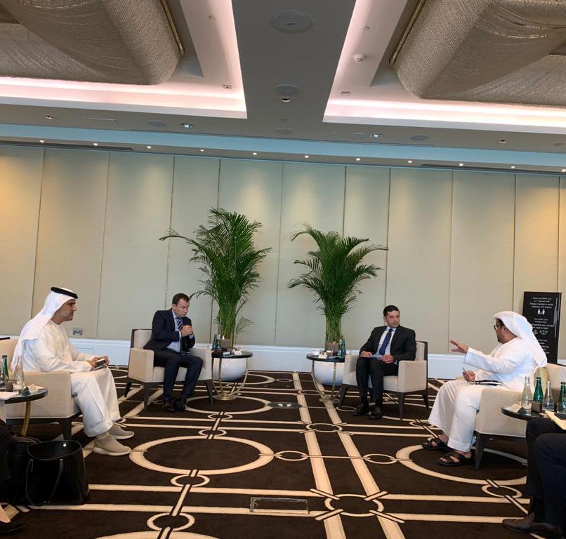 خلال اللقاءات مع المستثمرين الإماراتيين (4)