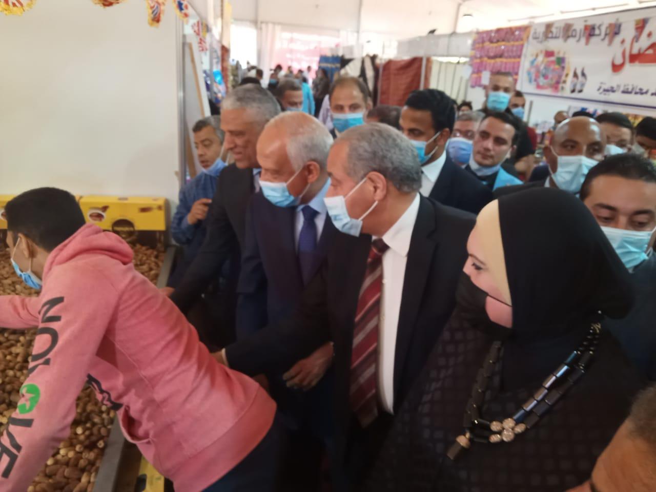 جانب من افتتاح معرض أهلا رمضان