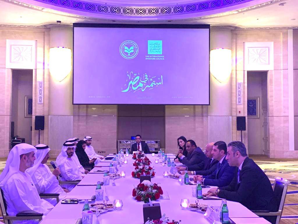 خلال اللقاءات مع المستثمرين الإماراتيين (3)