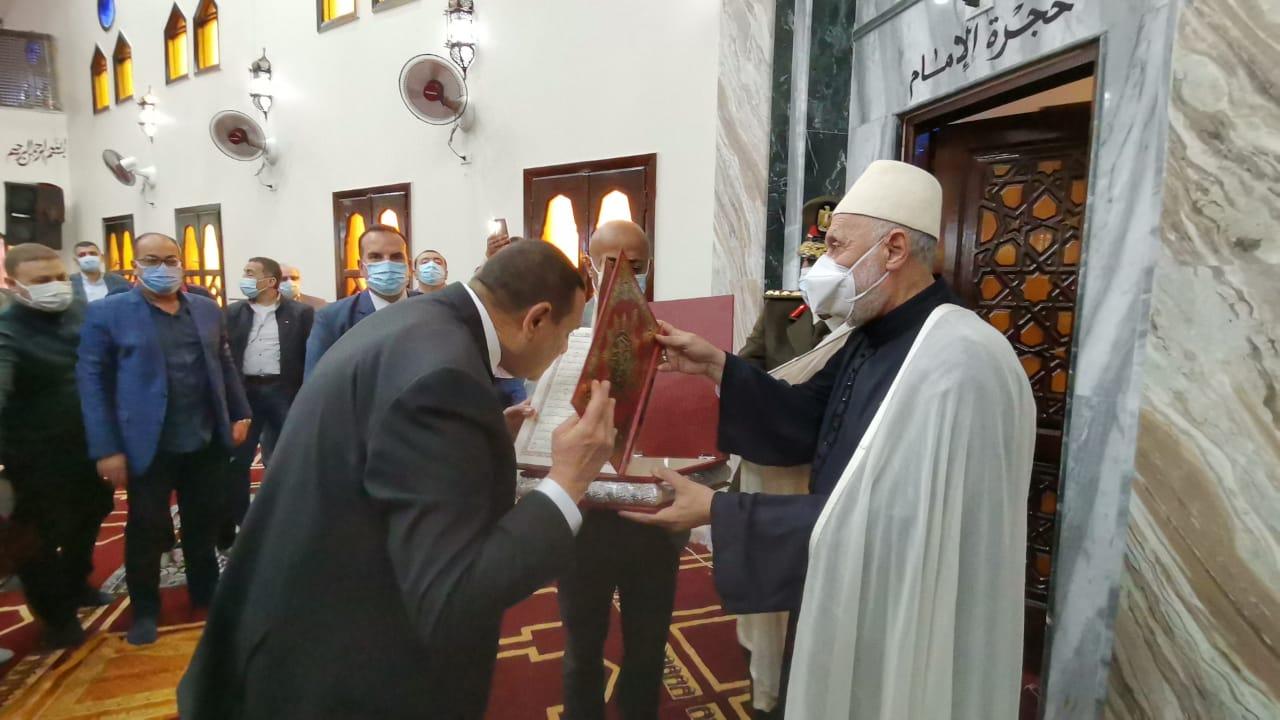افتتاح مساجد البحيرة  (1)