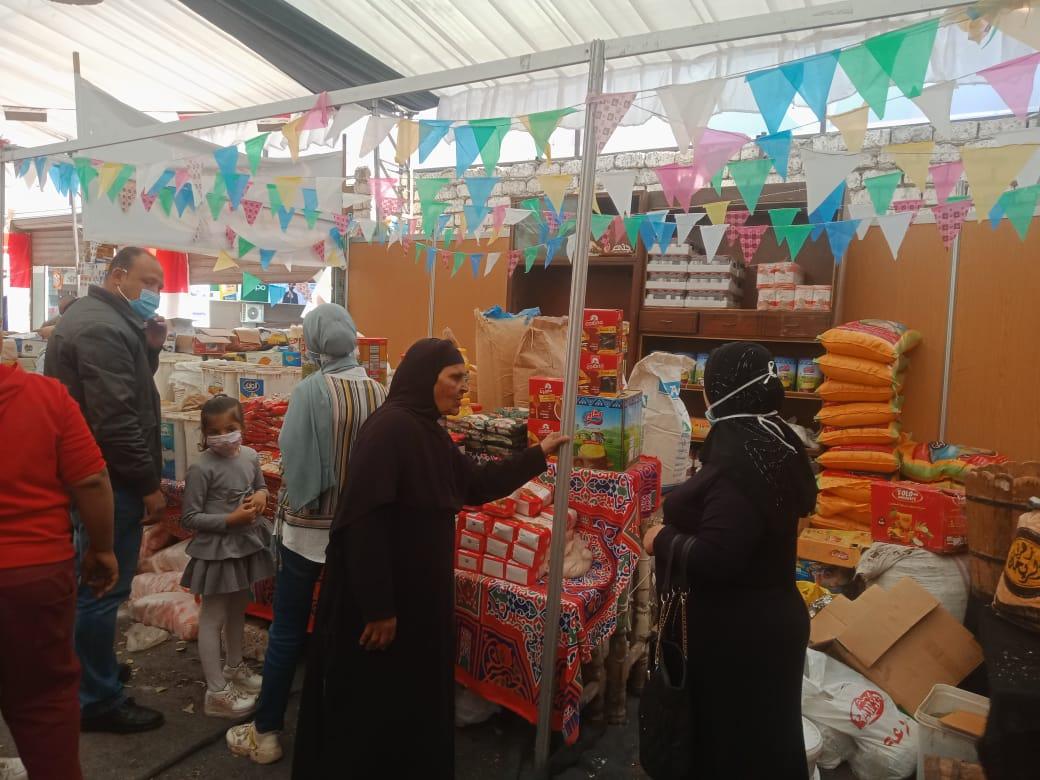 معرض أهلا رمضان بمدينة المنيا (1)