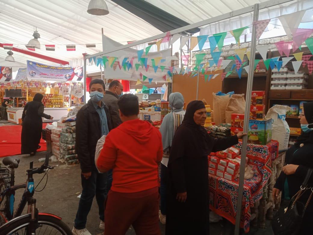 معرض أهلا رمضان بمدينة المنيا (2)