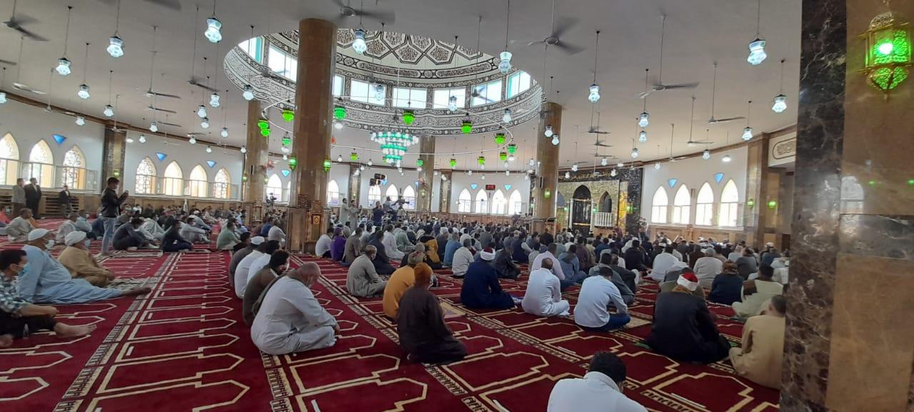 افتتاح مسجد النور بالمنصورية