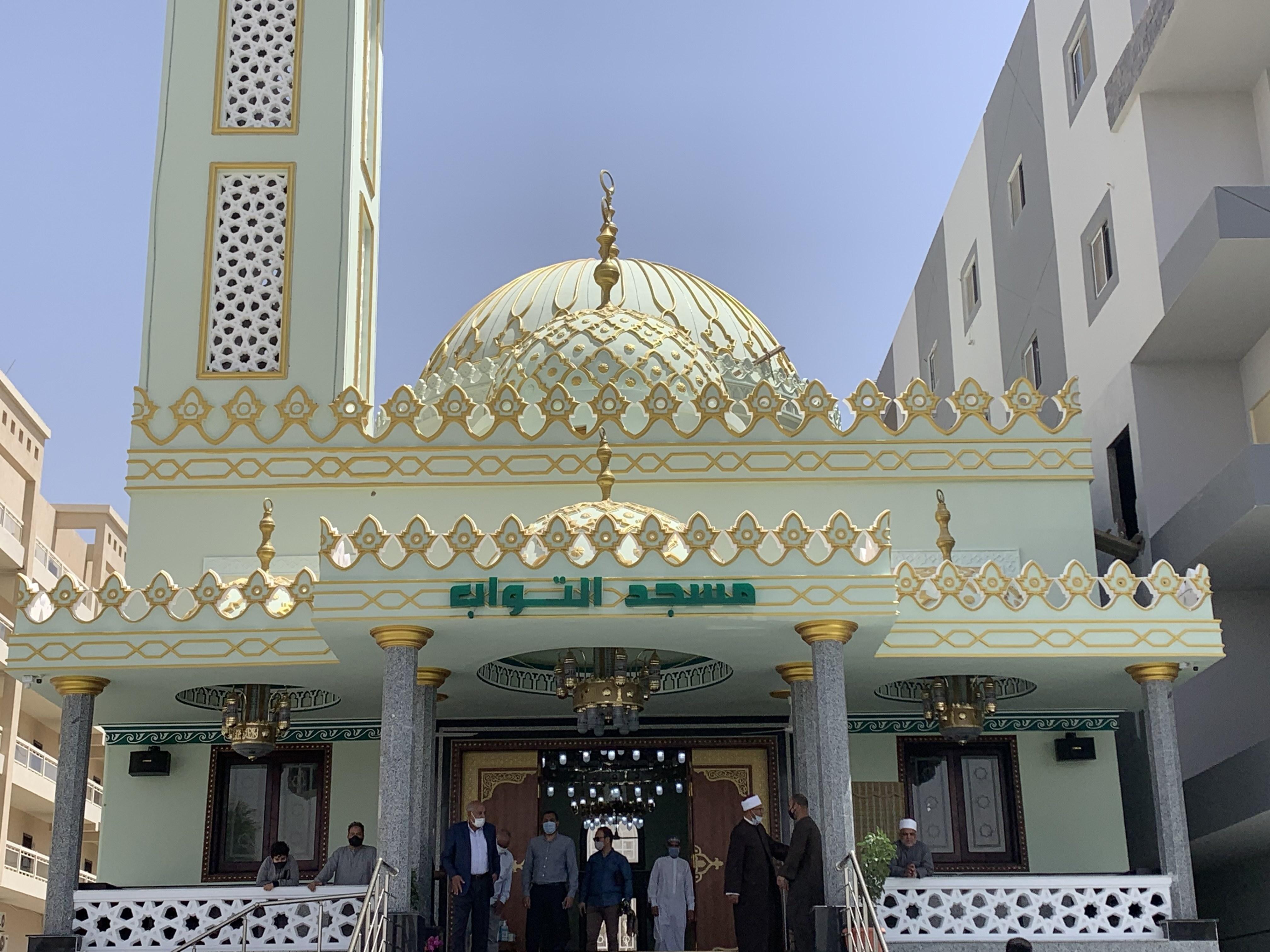 افتتاح مسجد التواب بمدينة الغردقة (1)