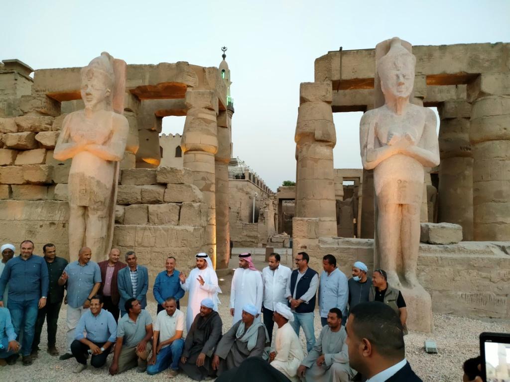 الفرعون رمسيس الثانى يحتفل بعودة تماثيله لواجهات معبده بعد آلاف السنين (14)