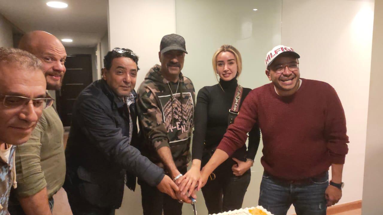 محمد سعد وهنا الزاهد وفريق عمل مسلسل 29 يوم
