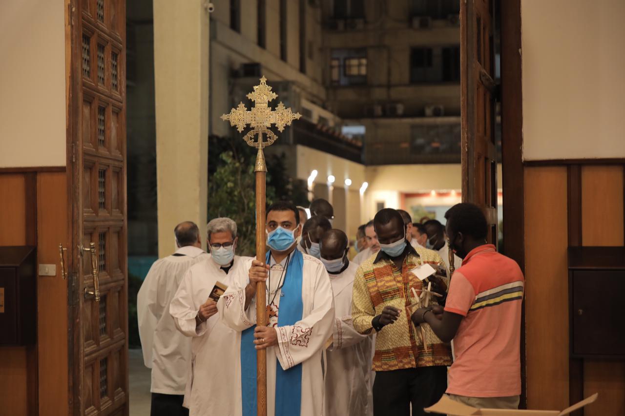 كاتدرائية جميع القديسين فى الزمالك (1)