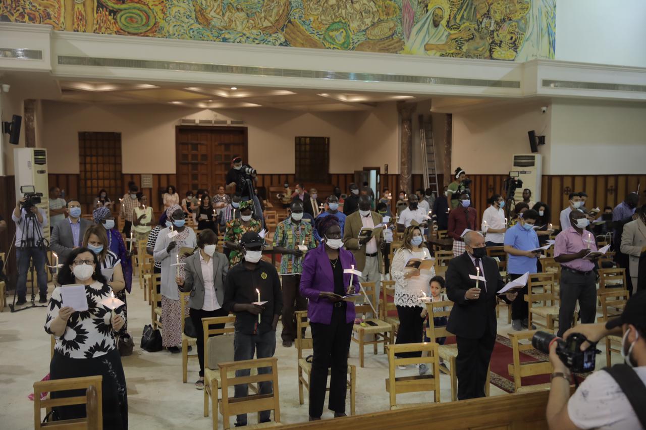 كاتدرائية جميع القديسين فى الزمالك (8)