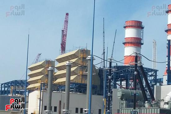 محطة كهرباء البرلس (1)