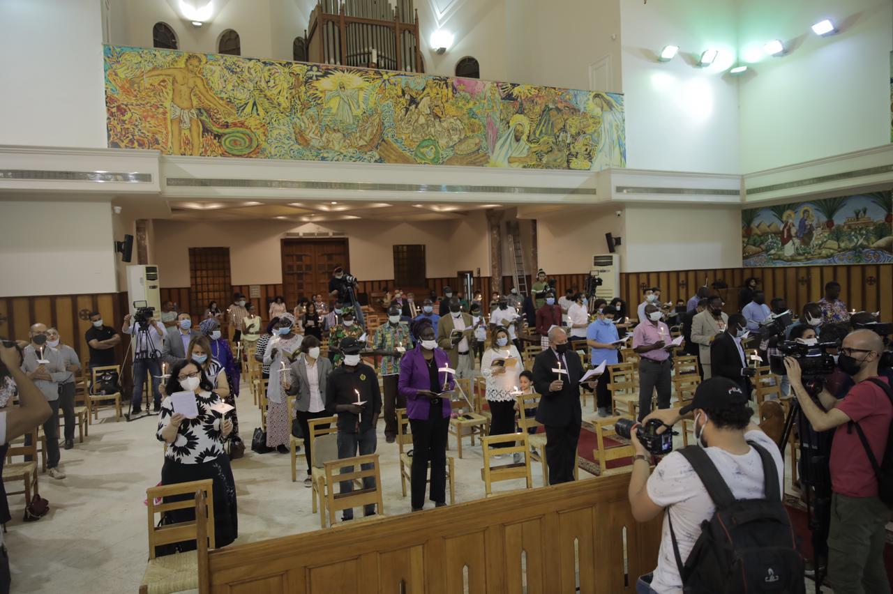 كاتدرائية جميع القديسين فى الزمالك (7)