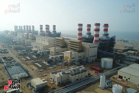 محطة كهرباء البرلس (9)