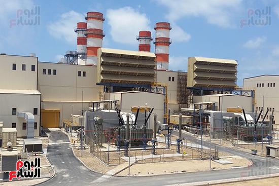 محطة كهرباء البرلس (4)