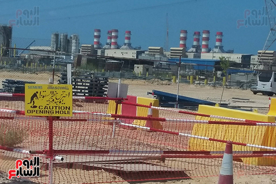 محطة كهرباء البرلس (11)