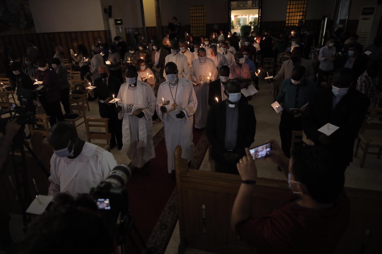 كاتدرائية جميع القديسين فى الزمالك (2)