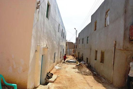 تنفيذ اكبر خطة لتطوير العشوائيات بمدينة الخارجة (3)