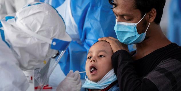 تطعيم كورونا لأطفال