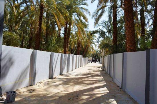 تنفيذ اكبر خطة لتطوير العشوائيات بمدينة الخارجة (16)