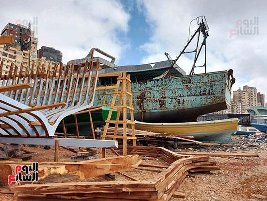 اقدم-ورش-لتصنيع-السفن-بالاسكندرية