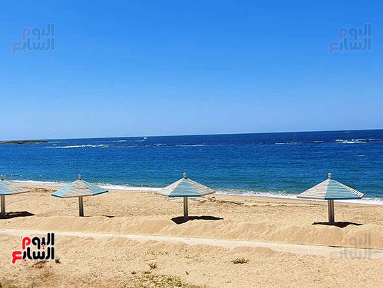 شواطئ-الاسكندرية-خالية