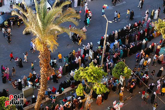 صلاة العيد بمسجد عمرو بن العاص