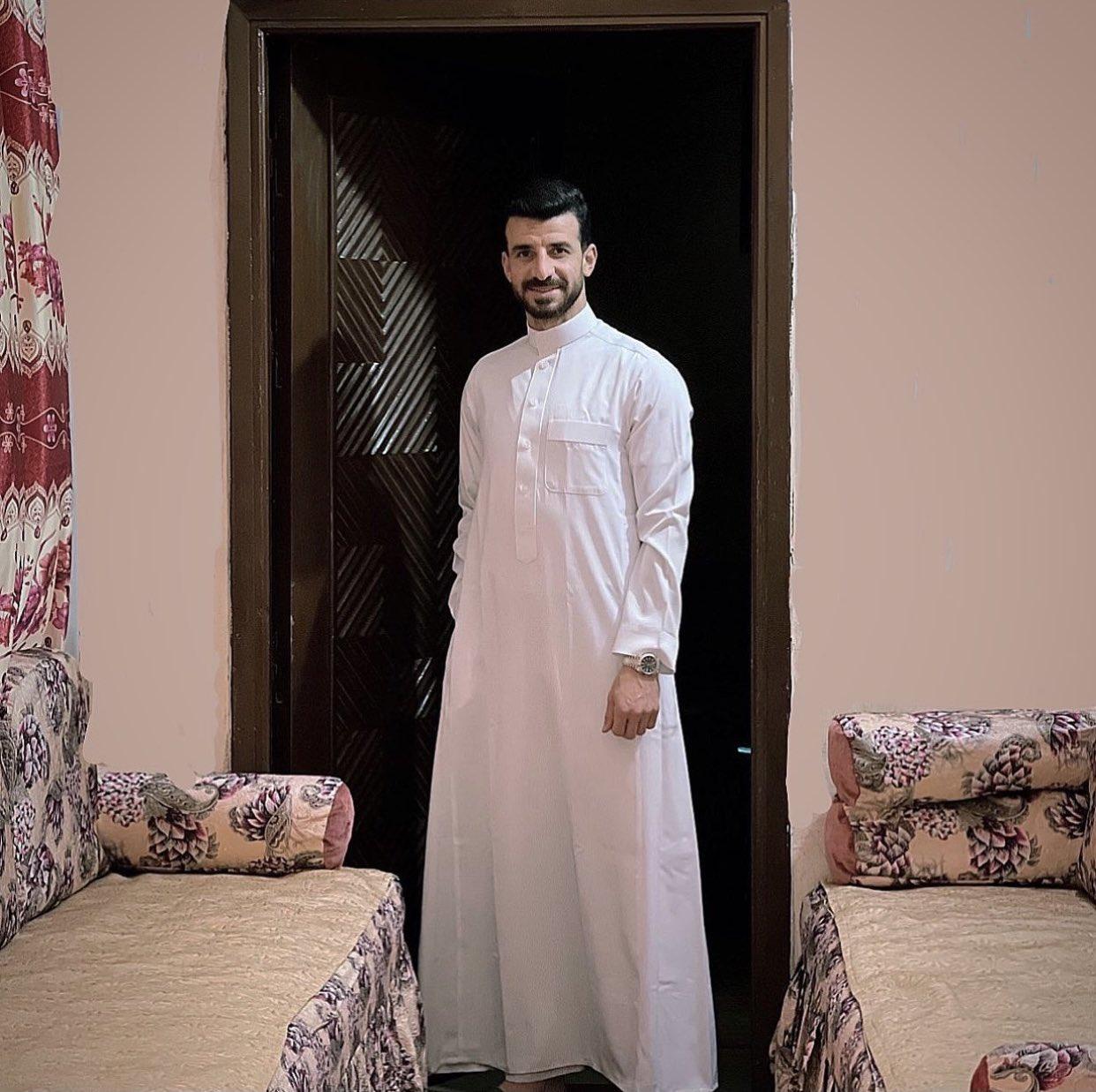 محمود متولى بالجلباب