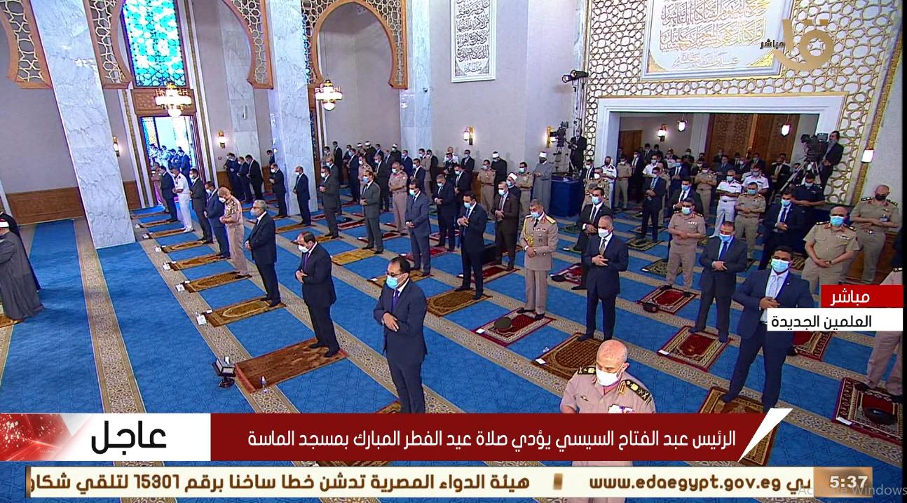 صلاة العيد بمسجد الماسة