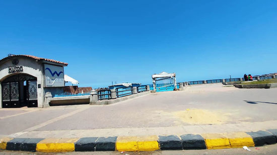 غلق-شواطئ-الإسكندرية