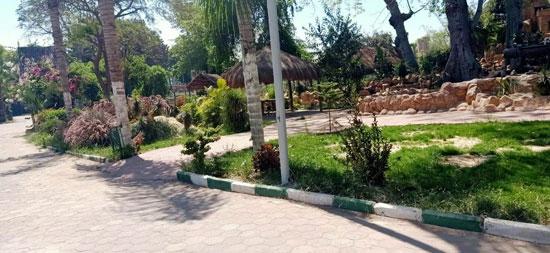 محافظ-القليوبية-يتابع-غلق-حدائق-القناطر-الخيرية-وكورنيش-النيل-ببنها-(11)